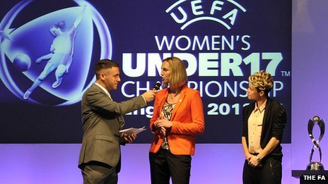 Women's U17 European Championships draw