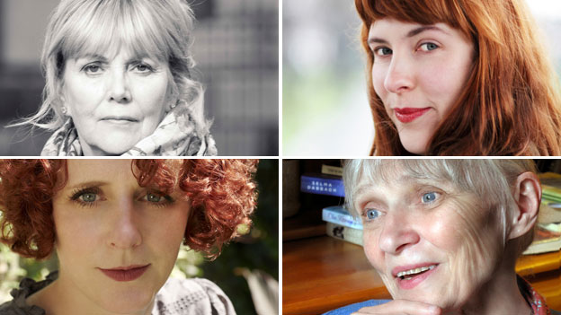 Clockwise from top left: Kate Atkinson (photo: Euan Myles), Evie Wyld, Bernardine Bishop (photo: Sylvan Mason) and Maggie O'Farrell (photo: Ben Gold)