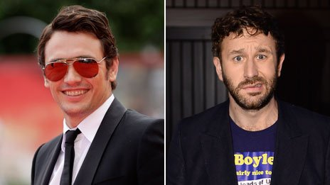 James Franco and Chris O'Dowd