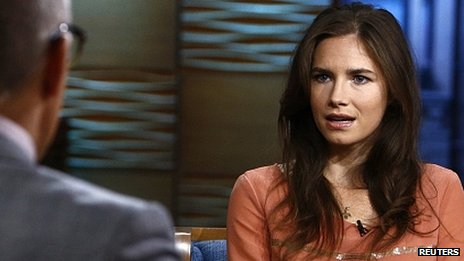 Amanda Knox on NBC. Sept 2013