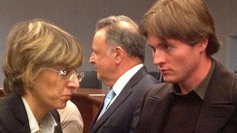 Raffaele Sollecito in court. 6 Nov 2013