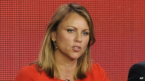 Lara Logan, seen in Pasadena, California, on 12 January 2013