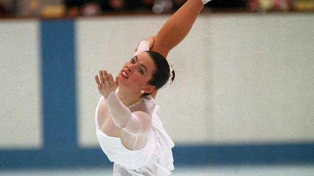 American figure skater Nancy Kerrigan