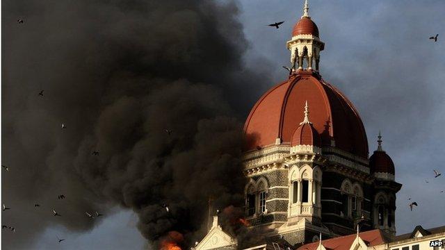 Terror attacks in Mumbai - 2008