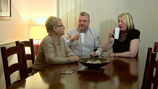 Scottish family