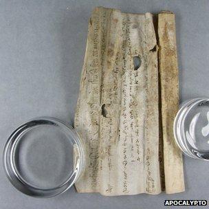 Bressingham scroll
