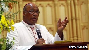 The Archbishop of Durban, Cardinal Napier