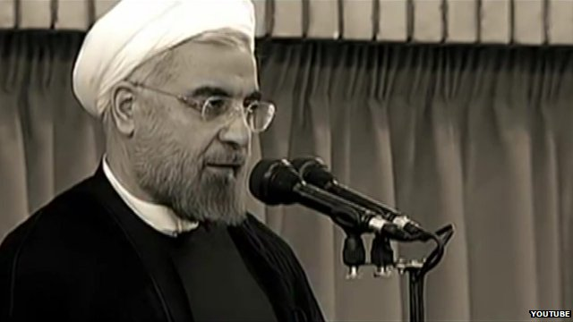 Iran president in 'yes we can' video