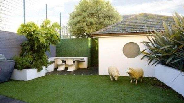 Sheep garden