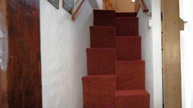 Odd stairs