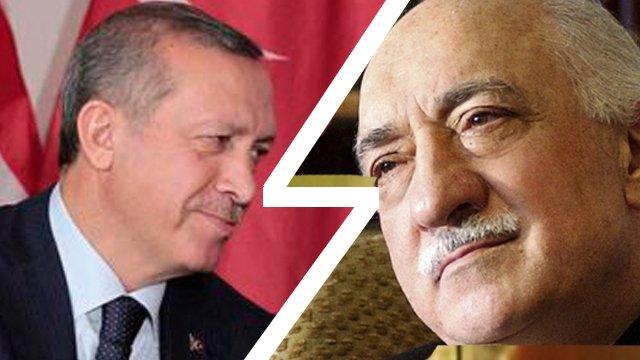 Prime Minister Recep Tayyip Erdog and Fethullah Gulen