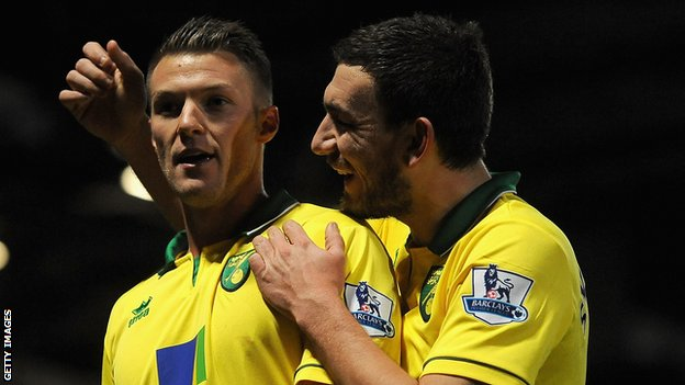 Anthony Pilkington and Robert Snodgrass