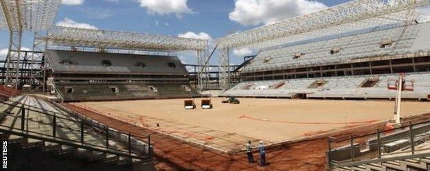 Estadio Pantanal, Cuiaba