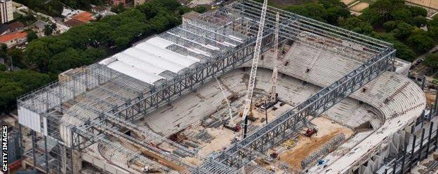 Estadio Da Baixada, Curitiba