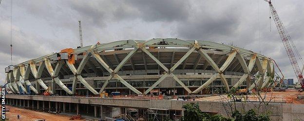 Estadio Amazonia, Manaus
