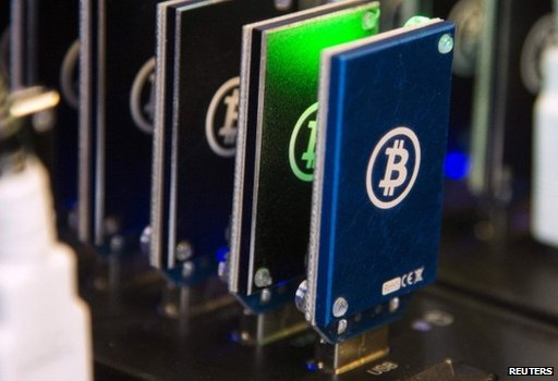Bitcoin mining chips
