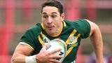 Billy Slater in action for Australia