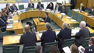 A hearing of the business business select committee