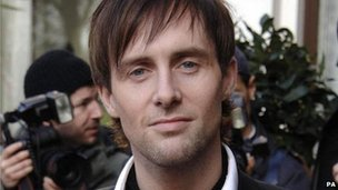 Ian 'H' Watkins of the band Steps
