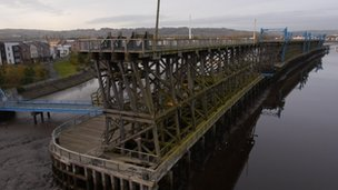 Dunston Coal  Staithes in Gateshead