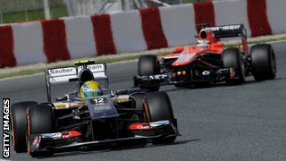 Sauber and Marussia