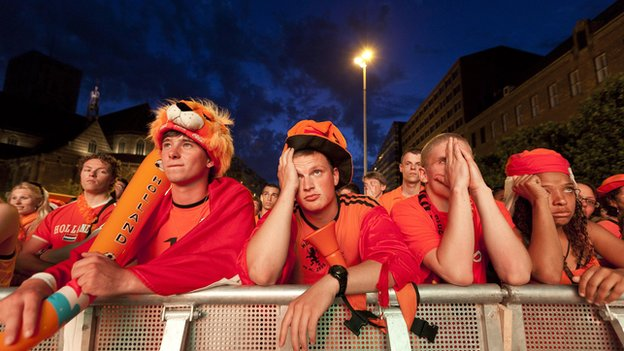 Dutch fans despondent