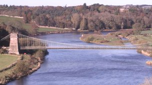 Union Bridge over the River Tweed