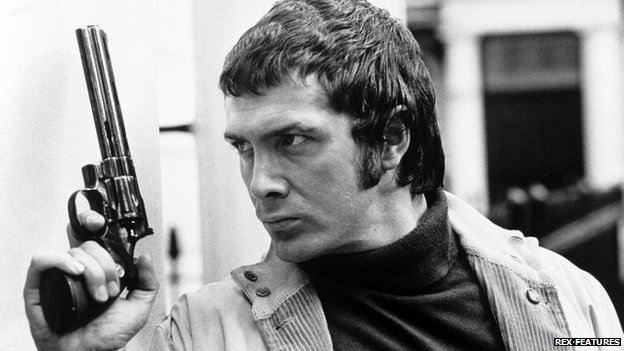 Lewis Collins in The Professionals