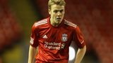 Liverpool midfielder Craig Roddan