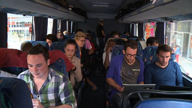 People on StartupBus