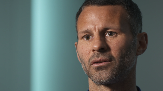 Manchester United player Ryan Giggs