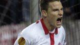Sevilla's Kevin Gameiro celebrates