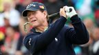 Tom Watson playing at the 141st Open Championship at Royal Lytham & St Annes Golf Club