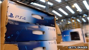 PS4 at Amazon centre