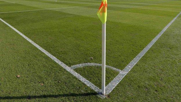 Football corner flag