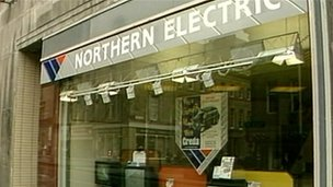 Northern Electric shop