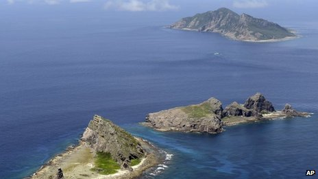 Senkaku/Diaoyu islands (file image)