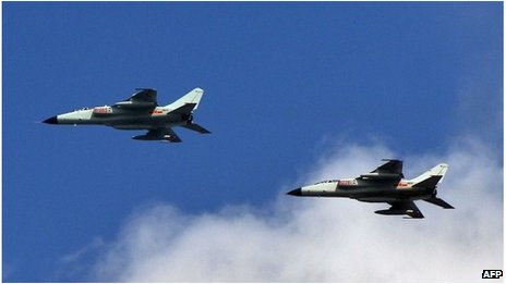 Chinese fighter jets (file image)