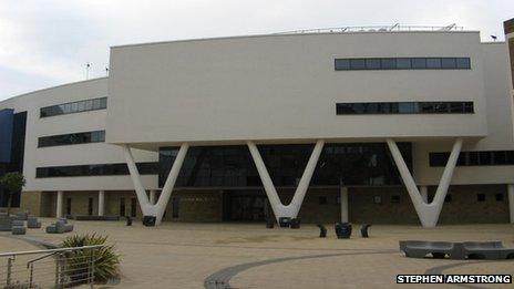 University of Huddersfield Creative Arts building
