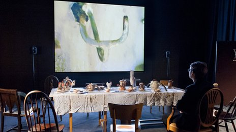 Laure Prouvost's installation Wantee at Schwitters in Britain