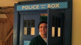 Dr Richards and his Tardis