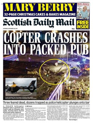 Scottish Daily Mail frontpage