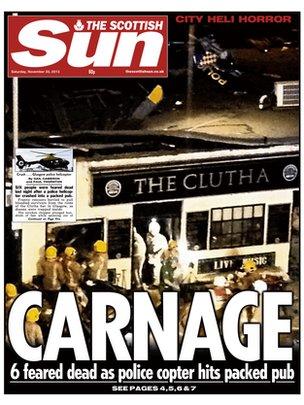 Scottish Sun frontpage