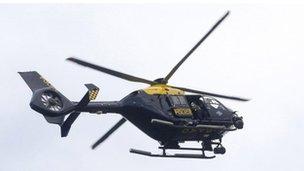 Eurocopter EC135 Police Scotland helicopter