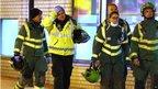 Ambulance crews at Glasgow pub helicopter crash