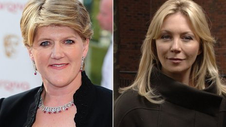 Clare Balding and Kirsty Young