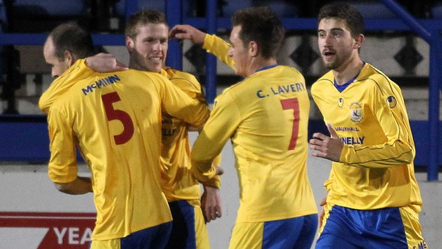 Dungannon beat Glenavon 3-1 at Mourneview Park