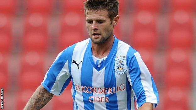 Huddersfield goal scorer Oliver Norwood