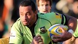 Northampton Saints' Samu Manoa