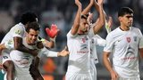 CS Sfaxien players celebrate